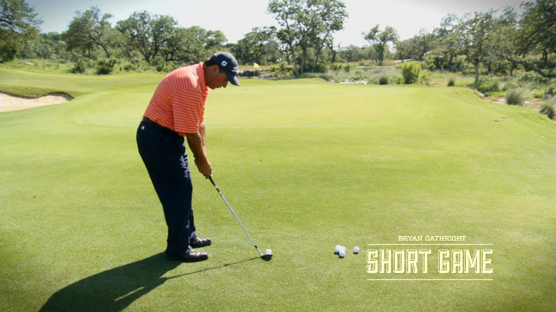 Ball Position and Trajectory for Wedge Shots