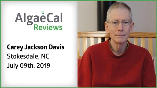 Testimonial thumbnail portrait of Carey Jackson Davis