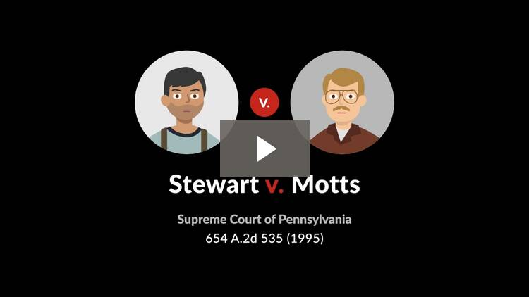 Stewart v. Motts