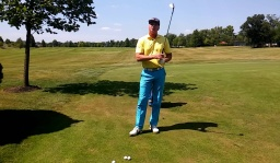 Practice a Correct Finish on High Pitch Shots