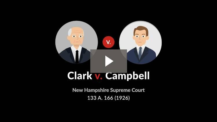 Clark v. Campbell