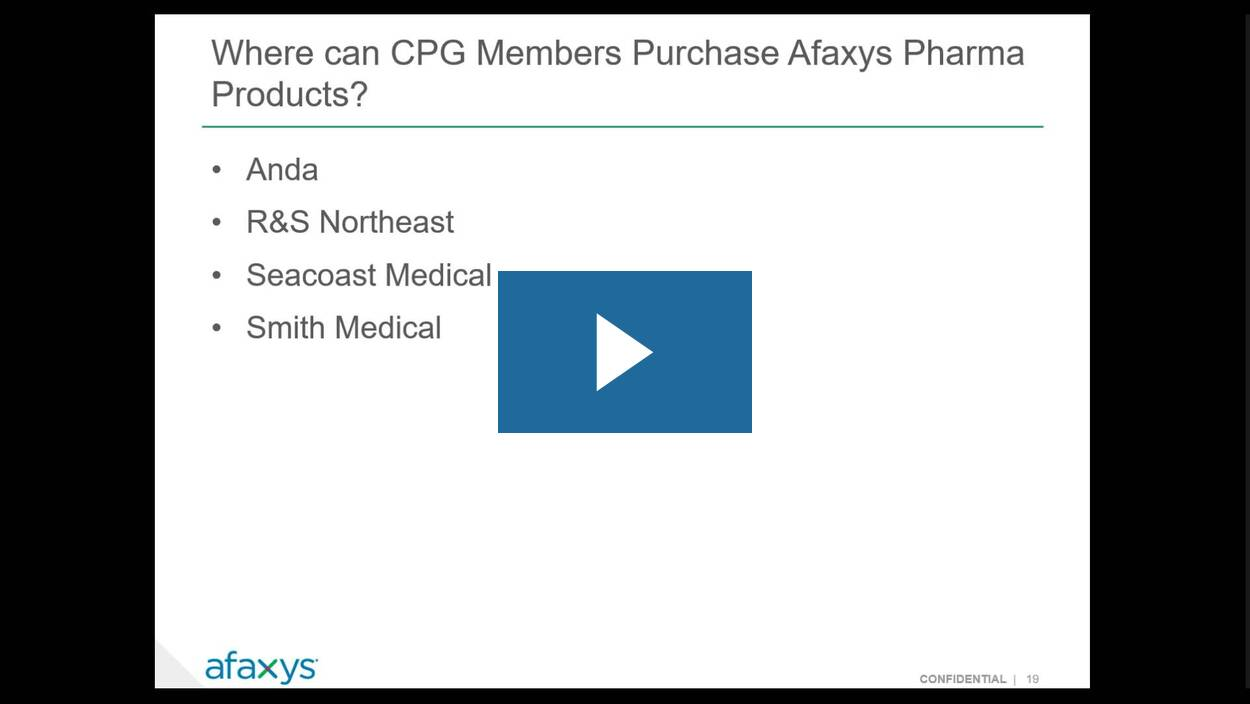 Afaxys Provides CPG Members with Affordable Access to Contraceptives, Supplies and Efficiencies