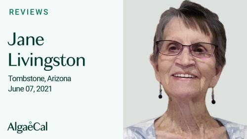 Testimonial thumbnail portrait of Jane Livingston