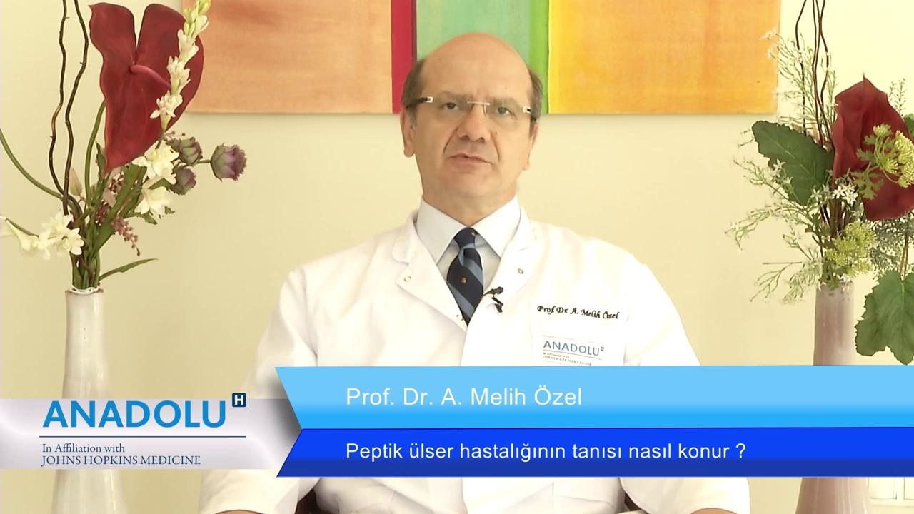 Peptik ülser hastalığın tanısı nasıl konur?