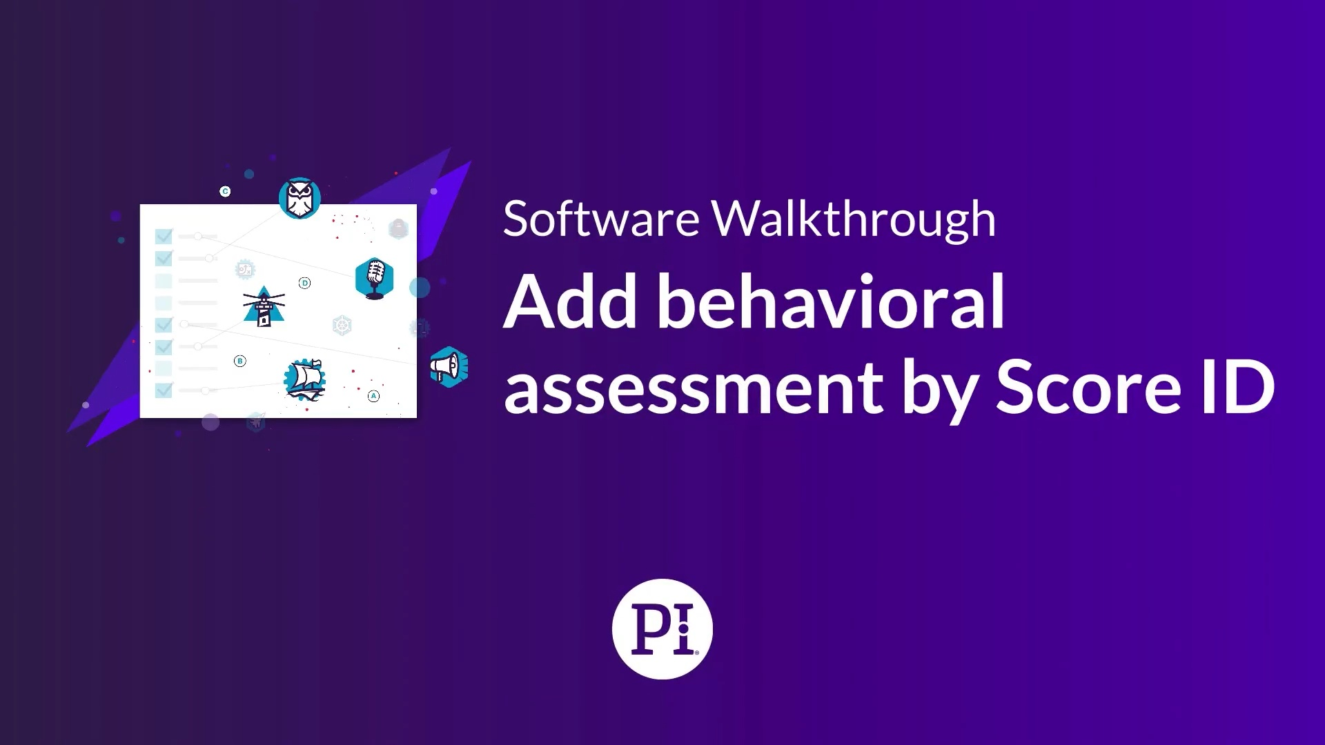 Add Behavioral Assessment By Score ID