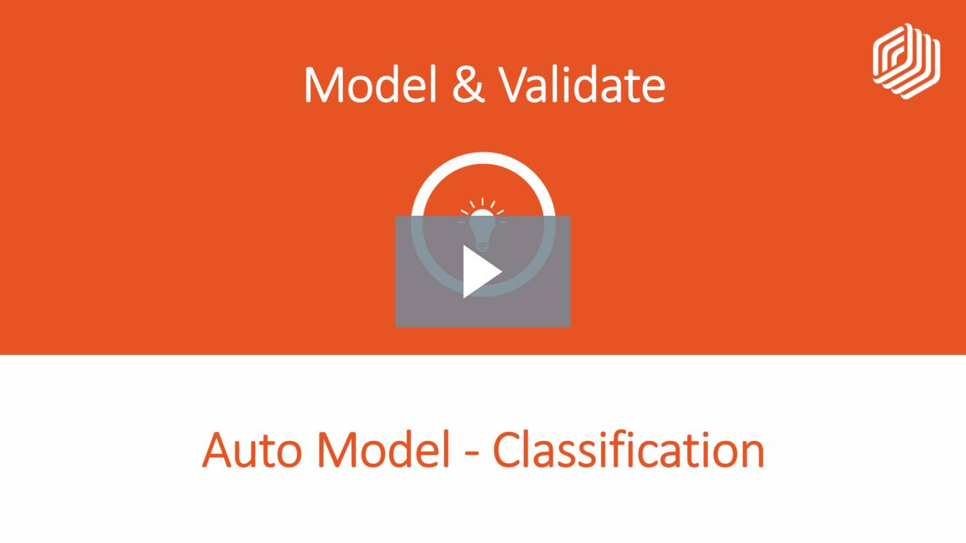 Auto Model - Classification
