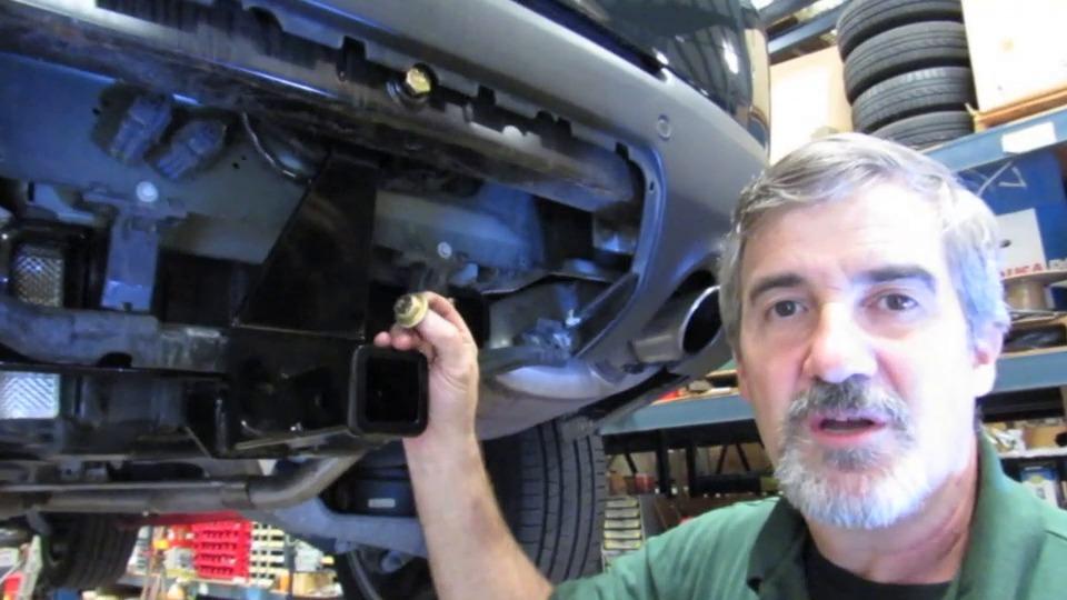 Trailer Hitch Receiver Range Rover Sport Bolt On 13243