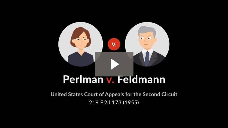 Perlman v. Feldmann