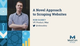 A Novel Approach to Scraping Websites