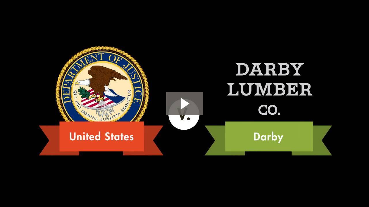 United States v. Darby