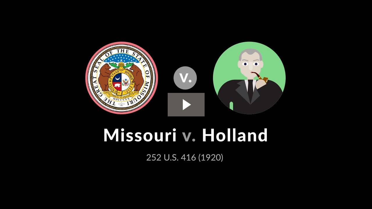 Missouri v. Holland