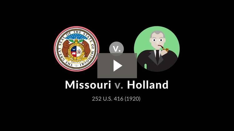 Missouri v. Holland