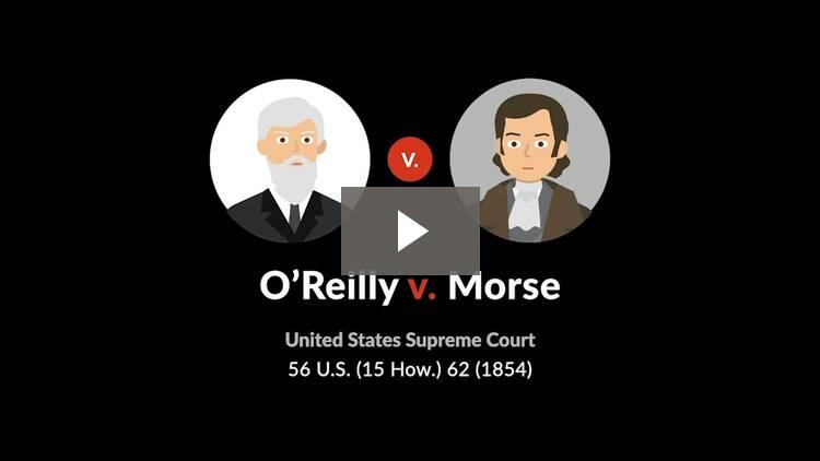 O'Reilly v. Morse