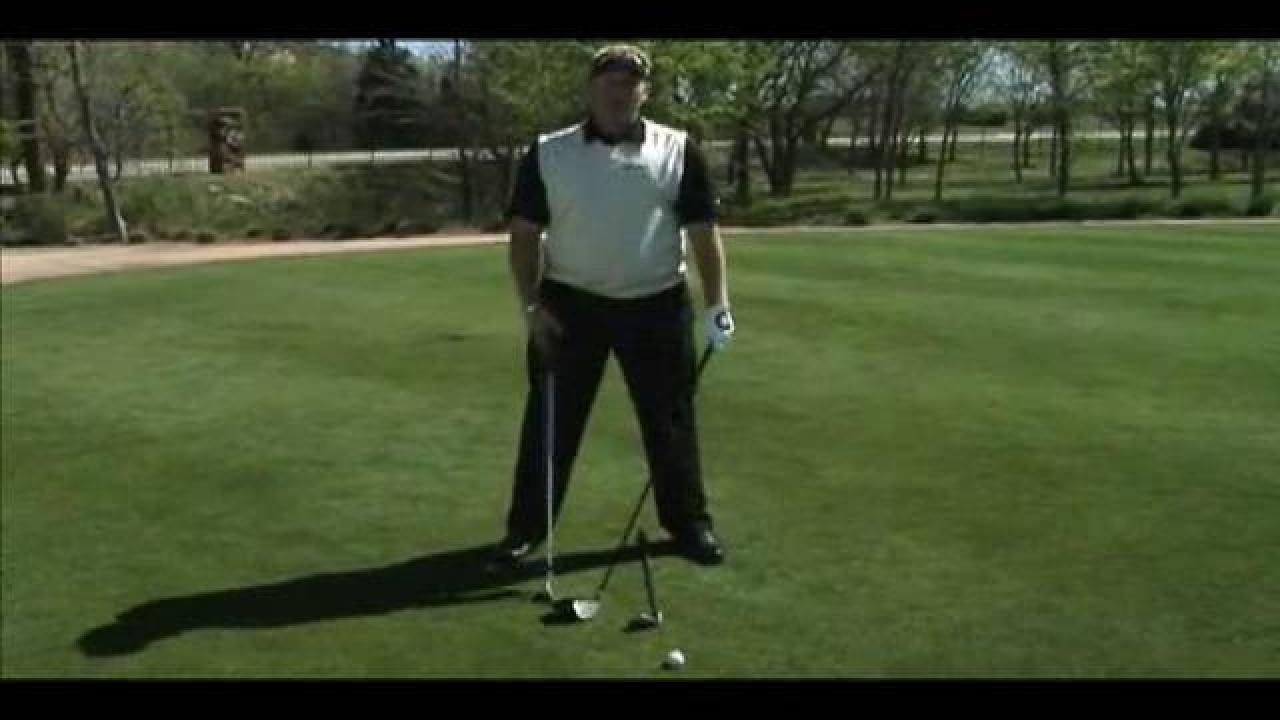Practice Like the Pros - Full Swing Ball Position