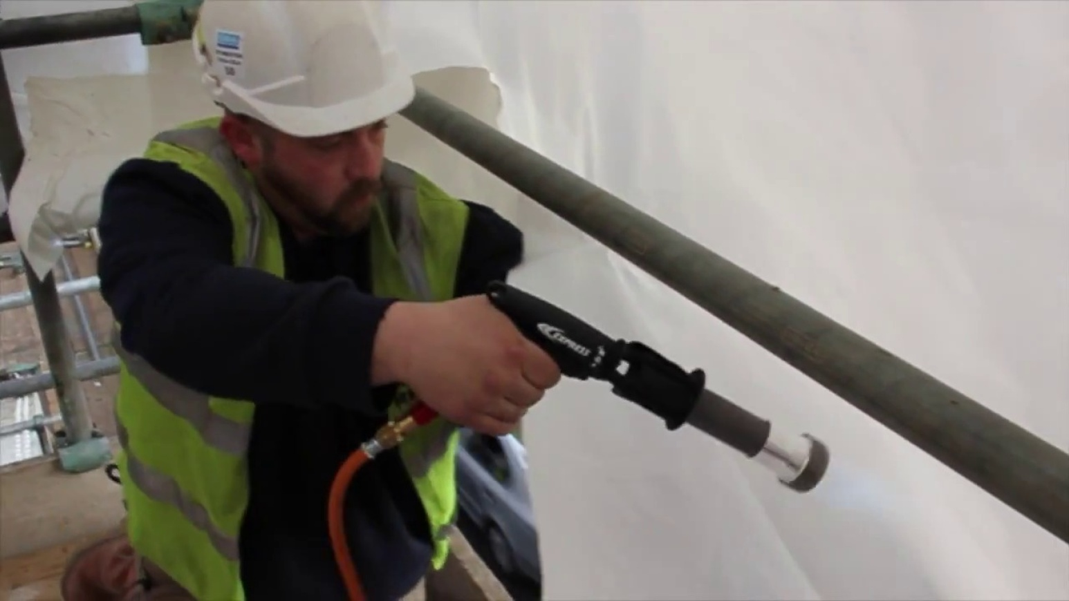 How To Weld Scaffold Wrap