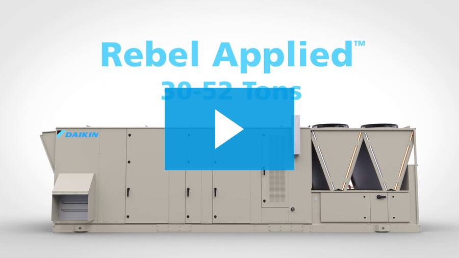Rebel Applied™ Packaged Rooftop System