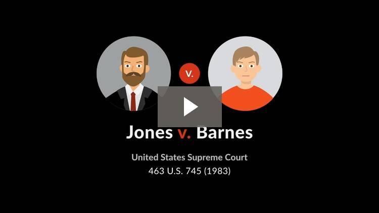 Jones v. Barnes