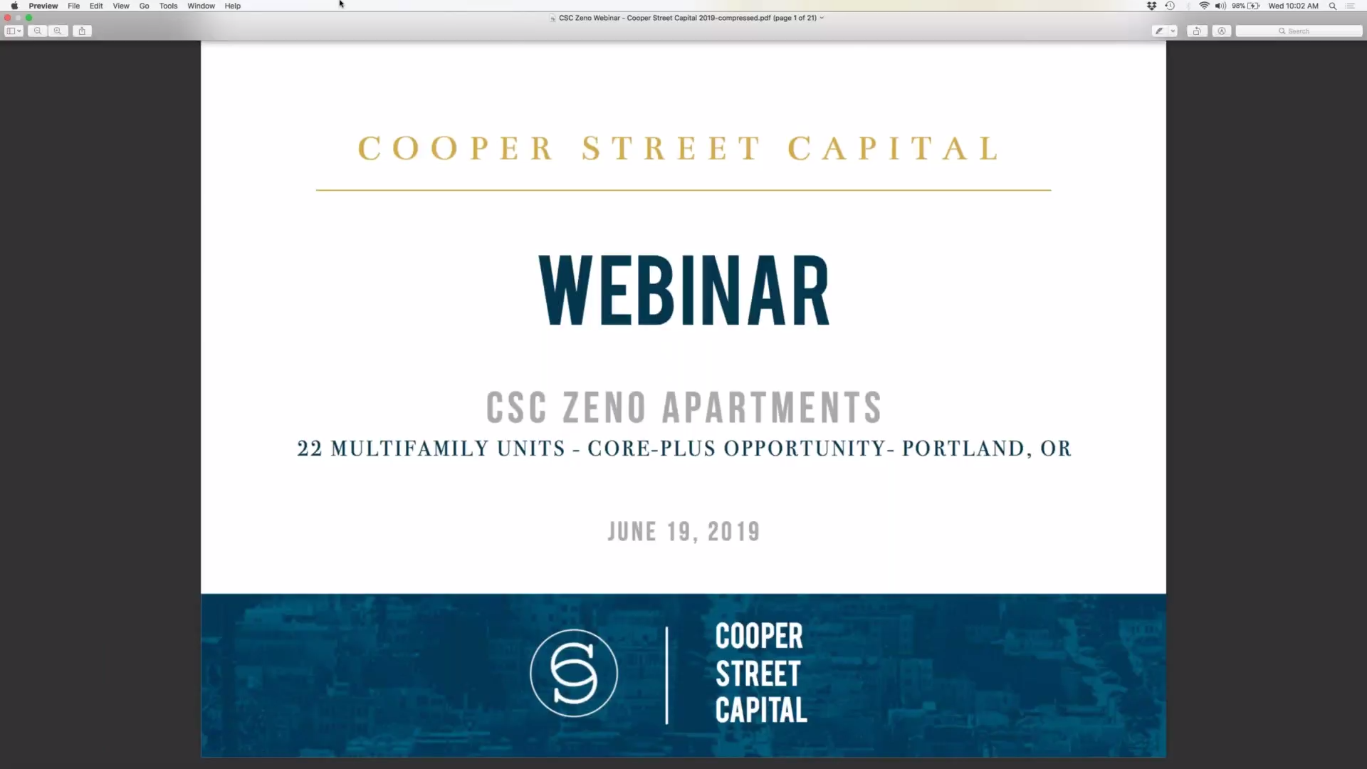 Investment Video - The Zeno Apartments