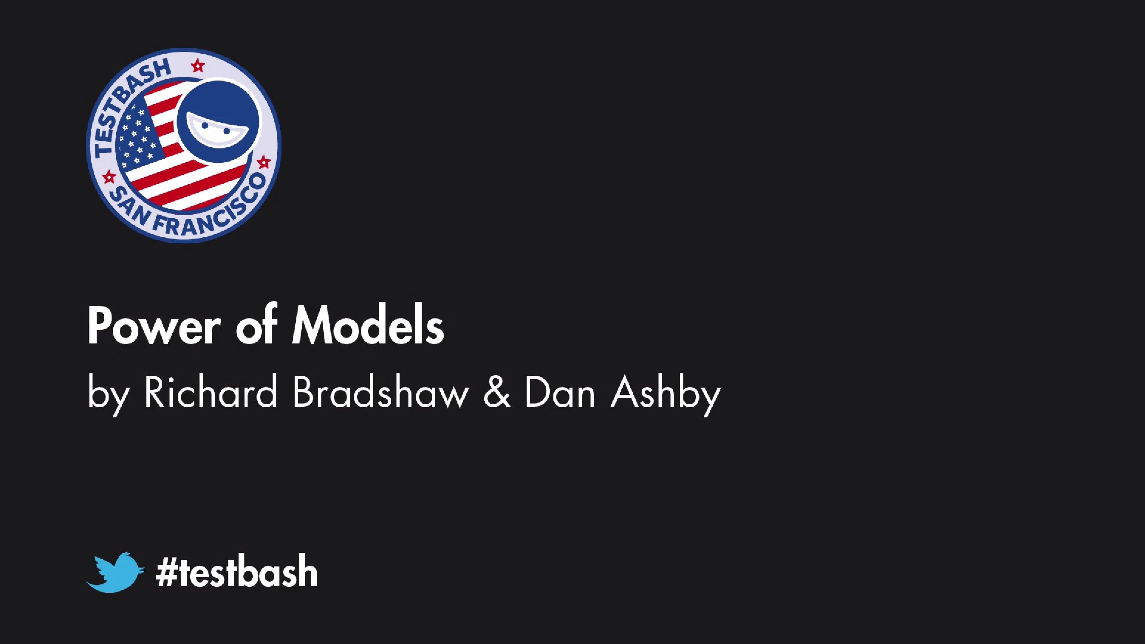 Power of Models - Dan Ashby & Richard Bradshaw