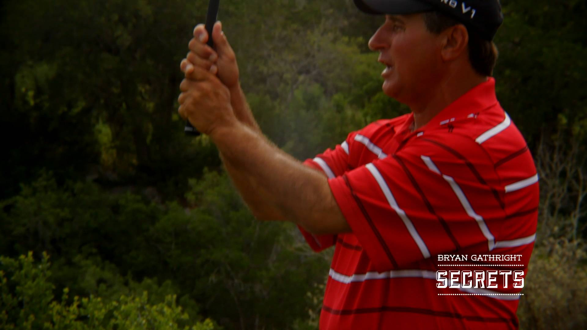 Correct Grip Pressure is Secret #2 from Harvey Penick