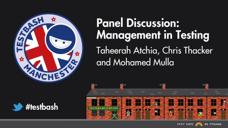 TestBash Manchester Panel: Management in Testing
