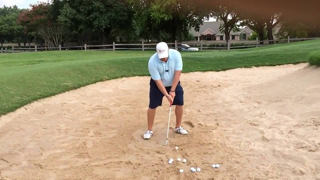 How to Hit Bunker Shots from Firm or Wet Sand