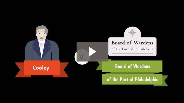 Aaron B. Cooley v. The Board of Wardens of the Port of Philadelphia
