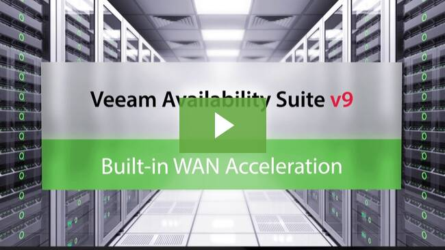 Built-in WAN Acceleration