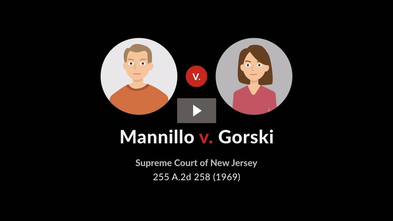 Mannillo v. Gorski