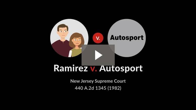 Ramirez v. Autosport