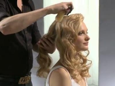 Tutorial de L´Oreal: peinado vintage para novia