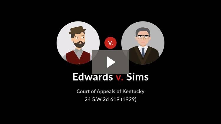 Edwards v. Sims