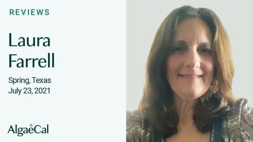Testimonial thumbnail portrait of Laura Farrell