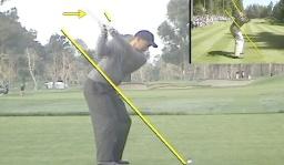 PGA Tour Player Tiger Woods Swing Comparison