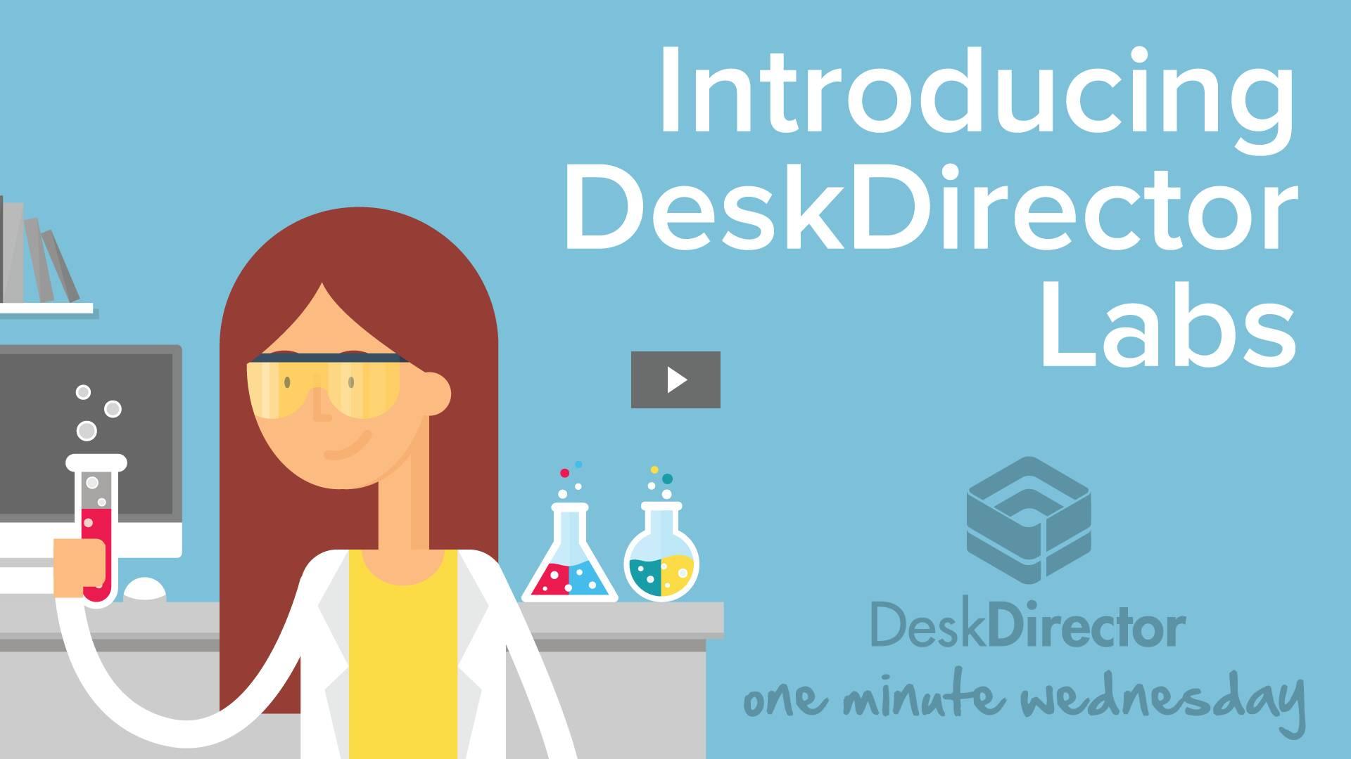 Introducing DeskDirector Labs