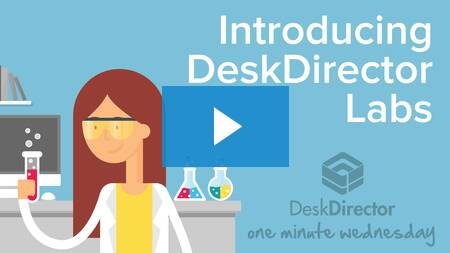 Introducing DeskDirector Labs