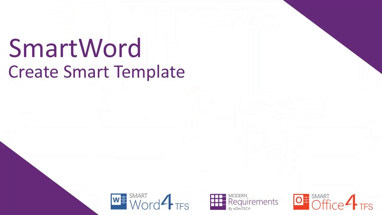 creating word template