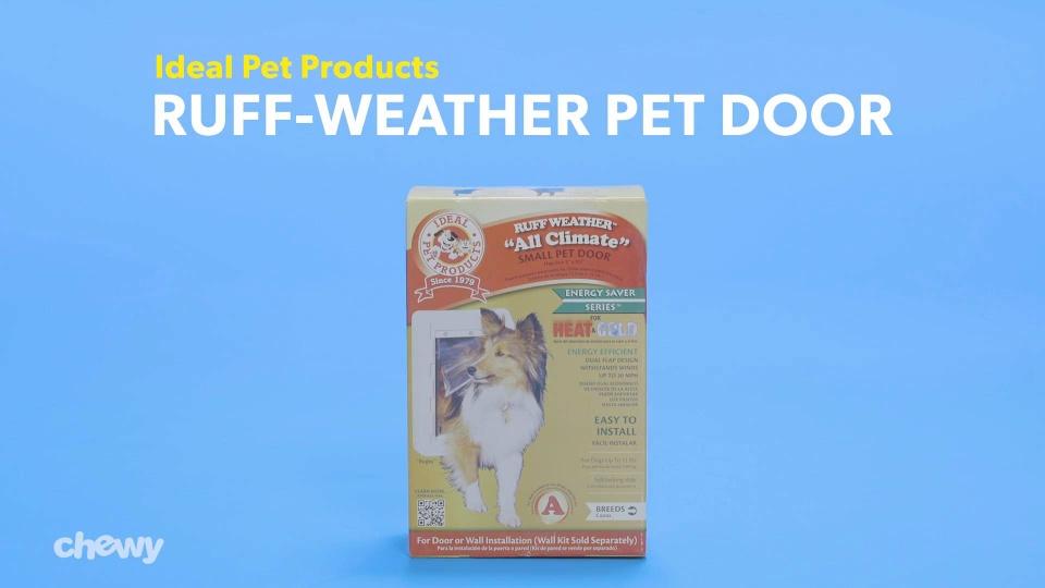 Ideal Pet Products Designer Series Ruff Weather Pet Door Tinted