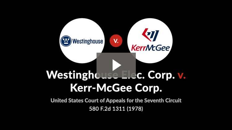 Westinghouse Elec. Corp. v. Kerr-McGee Corp.