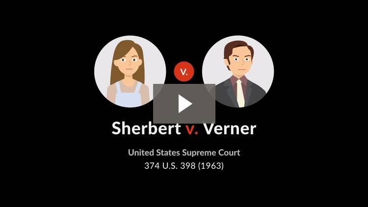 Sherbert v. Verner