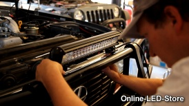Off Road Jeep & Vehicle LED Light Bars Installation - LAMPHUS ® Cruizer ™