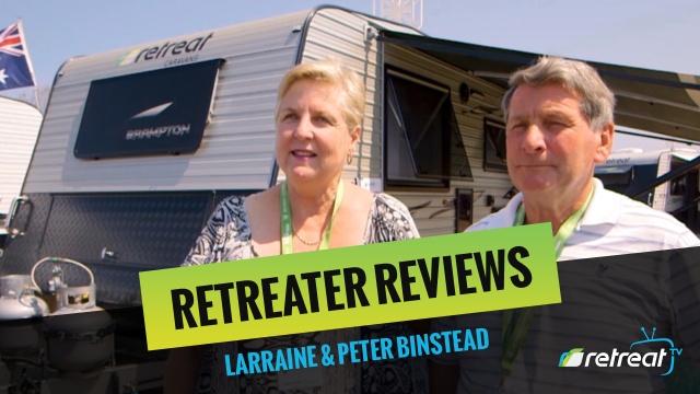 Retreater Review – Larraine & Peter Binstead