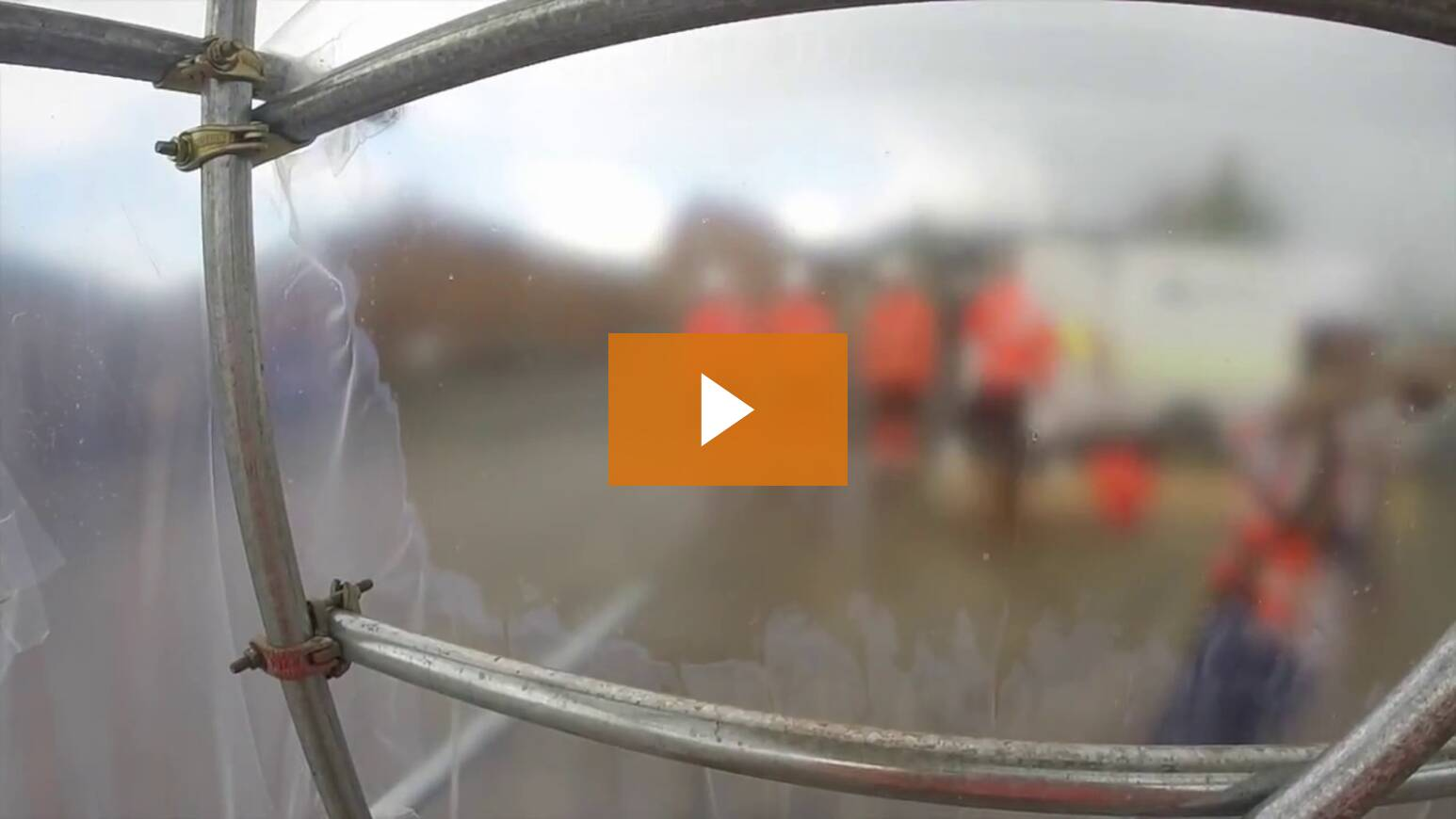 How To Use Clear Shrink Wrap Film For Scaffold Encapsulation & Containment