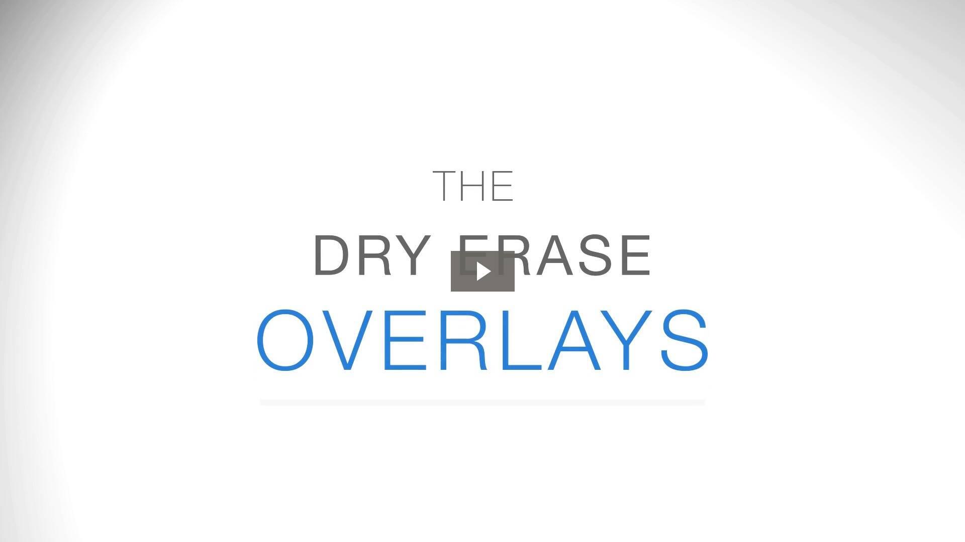 The Dry Erase Overlays