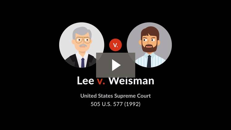 Lee v. Weisman