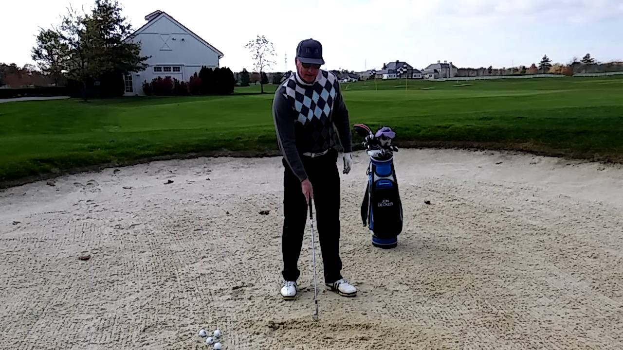 Move the Sand to Hit Great Bunker Shots