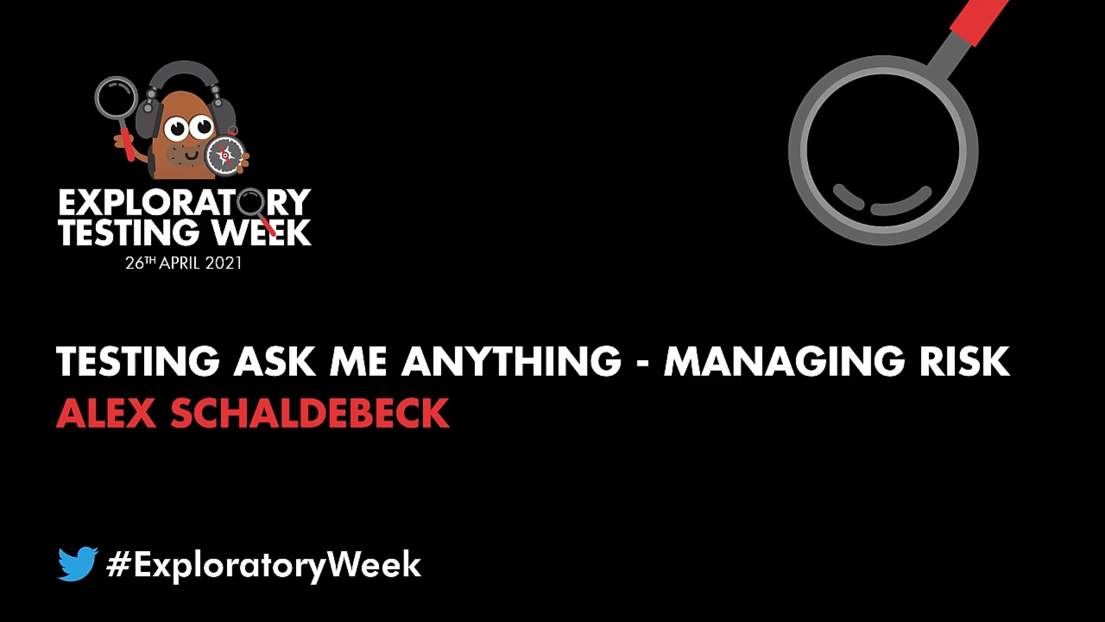Testing Ask Me Anything: Managing Risk with Alex Schladebeck