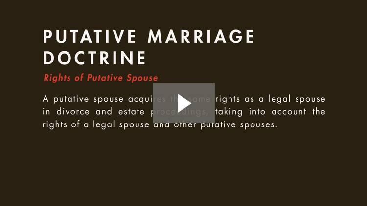 Types of Marriages