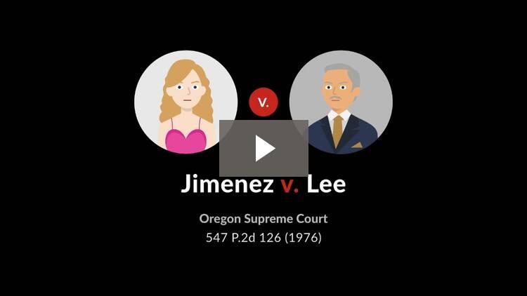 Jimenez v. Lee