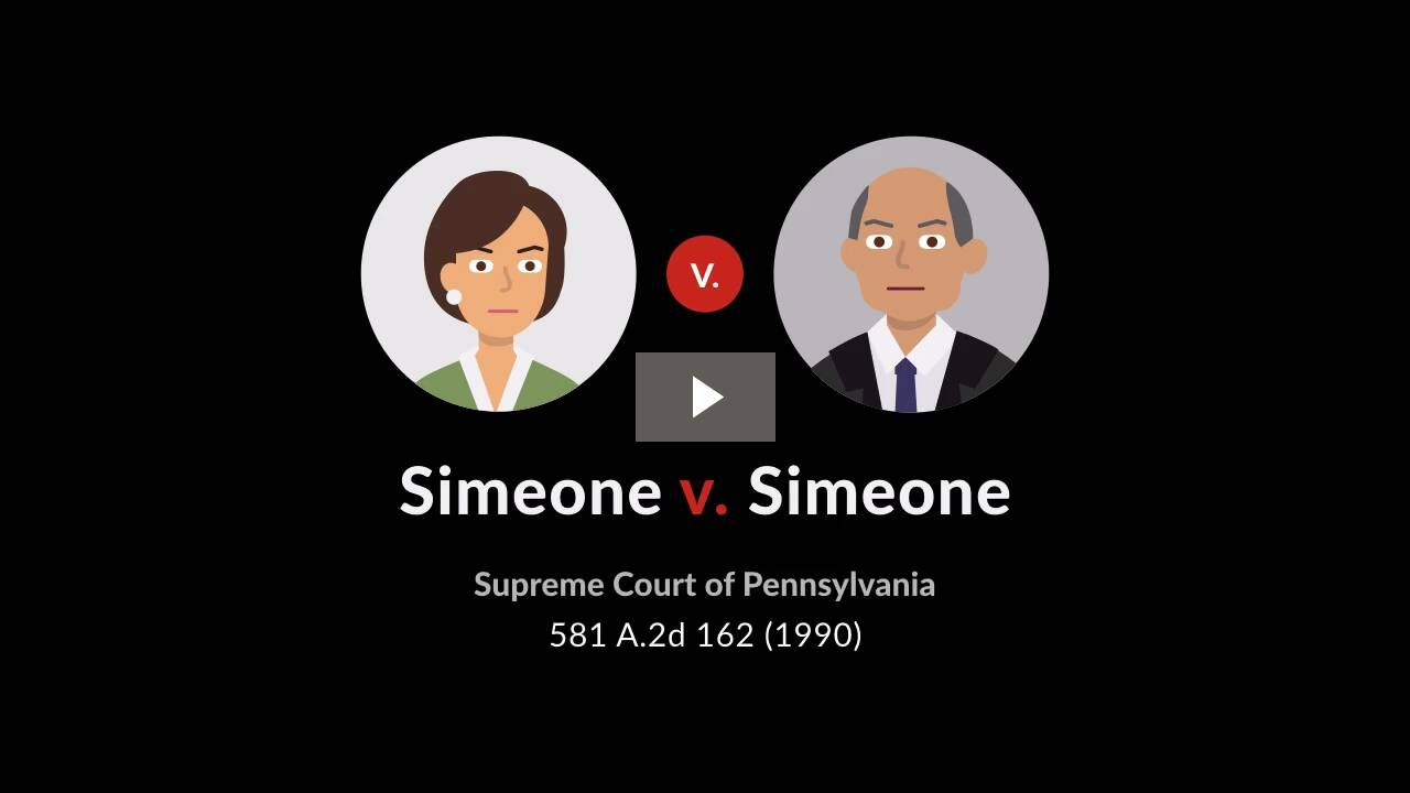 Simeone v. Simeone